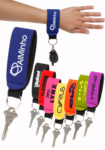 Neoprene Strap Keychains