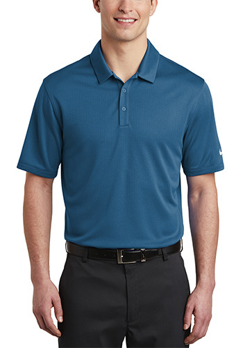 Nike Dri FIT Hex Textured Polos | SANKAH6266