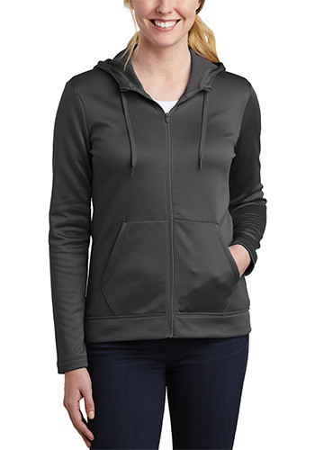 Nike Ladies Therma FIT Full Zip Fleece Hoodies | SANKAH6264