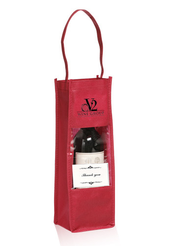Non-Woven Wine Bottle Carrier Gift Bags | TOT100