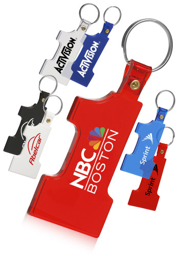 Personalized Number 1 Soft Keychains