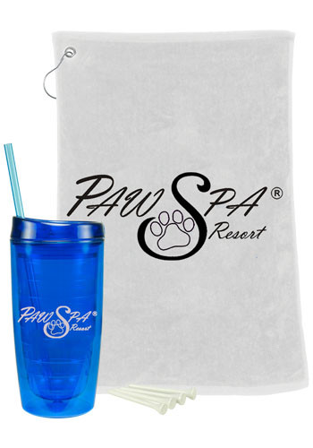 Custom Oasis Tumbler Golf Gift Set