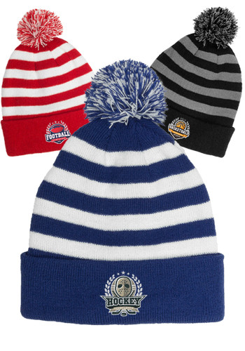 75165adafc2 Two Tone Rib Knit Beanies