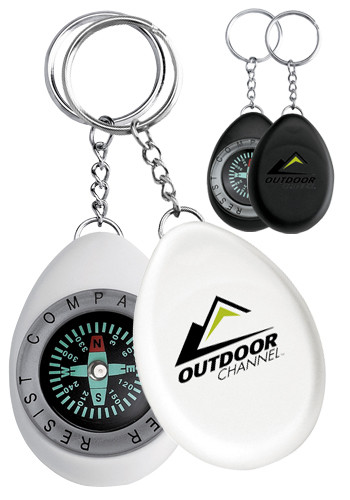 Oval Compass Keychains | SM2394
