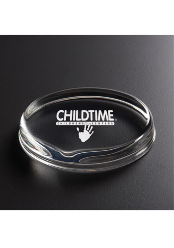 Customized Oval Paperweight