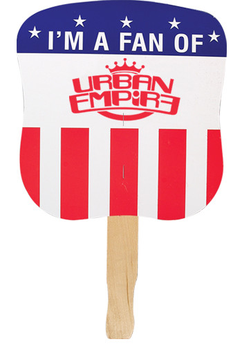 Patriotic Hand Fans - Political Party | AK33600