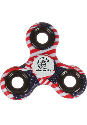 Customized Patriotic Spinners