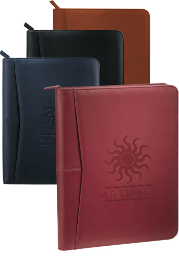 Personalized Pedova Zippered Padfolios