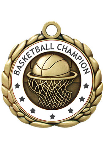 2.50 in. Quali-Craft Basketball Medals | SISLQCM3
