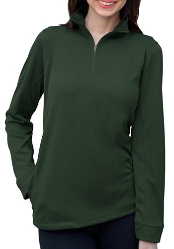 Vansport Women's 1/4-Zip Mesh Tech Pullovers | 3406