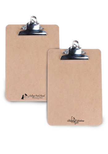 Custom 6W x 9H inch Mini Clipboards