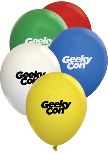 Personalized 9 Inch Standard Latex Balloons