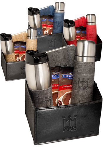 Casablanca™ Stainless Steel Thermos, Tumbler & Journal Ghirardelli Gift Set |PLLG9426