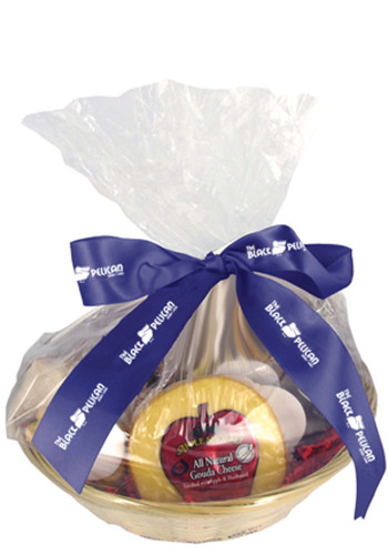 Personalized Cheese & Cracker Gift Basket