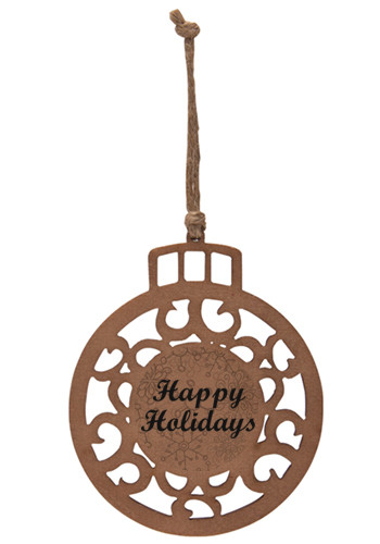 Christmas Ball Wood Ornaments | IL1796ORNAMENT