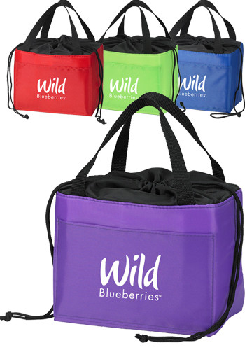 Personalized Cinch-Up™ Polyester Lunch Bags