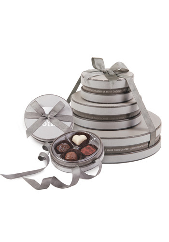 Promotional Cirque Collection Belgian Chocolate Gift Tower