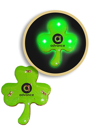 feb06fed Personalized Flashing Shamrock LED Blinkies  WCBLI158 As low as $1.85 Buy  Now >