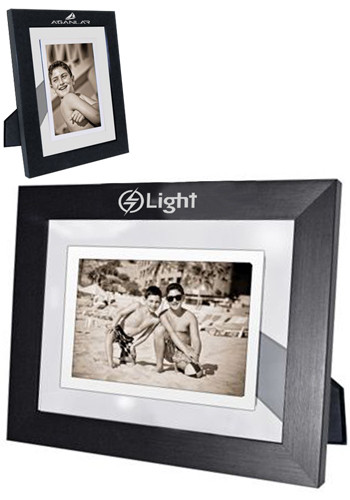 customized floating infinity 5w x 7h inch photo frames