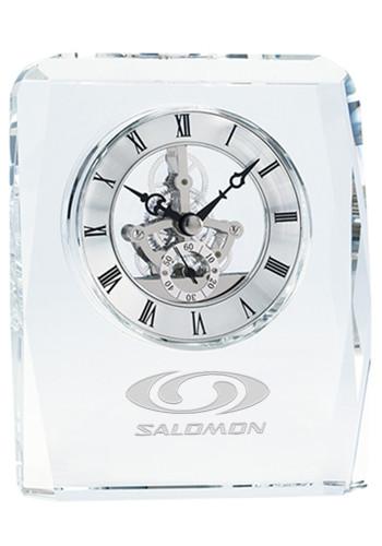Captivating JaffaCrystal Skeleton Desk Clocks | X30073 Amazing Pictures