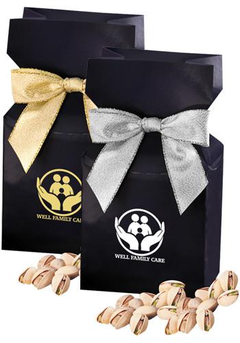 Jumbo California Pistachios in Navy Blue Gift Box | MRNPD141