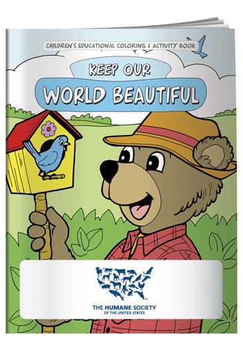 Coloring Books: Keep Our World Beautiful | X11081