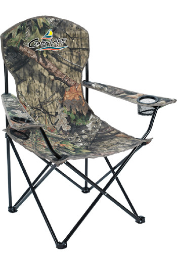 Mossy Oak Polyester-Steel Captain's Chair | X30119