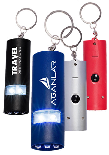 Plastic Dual LED Mini Flashlights | PL1259