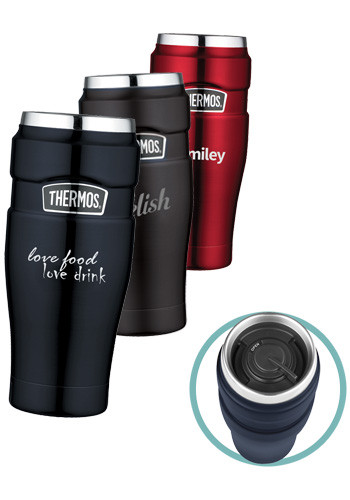 16 oz  Thermos Stainless King Travel Tumblers | GL80031