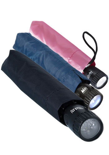 Rain or Shine Umbrella Flashlights | INMFL12