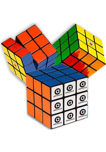 Rubik's 9-Panel Full Stock Plastic Cubes | PL4685