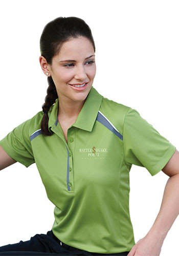 Women's Quinn Short Sleeve Polo Shirts | LETM96216