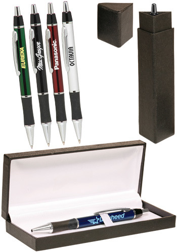 Bulk Metallic Action Writing Pen Gift Set