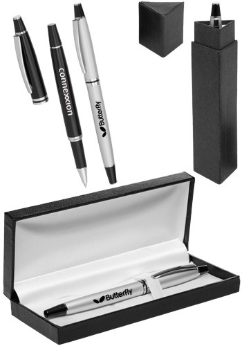 Thassos Rollerball Metal Pens Gift Set | PGSMP237