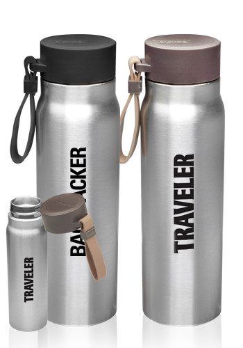 Phlox 17 Oz Vacuum Insulated Water Bottles With Carrying