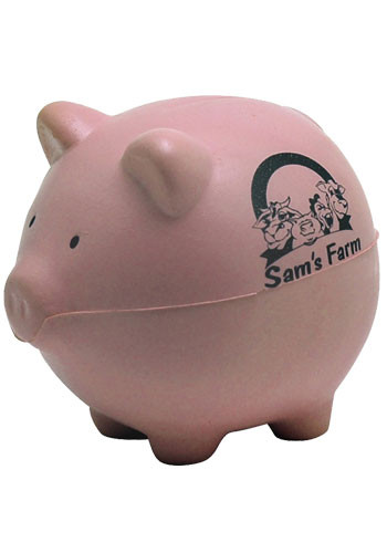 Custom Pig Foam Stress Balls