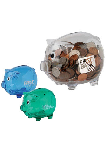 Promotional Imprinted Piggy Banks,