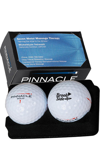 Pinnacle Soft 2-Ball Business Card Boxes | PCGPBCB