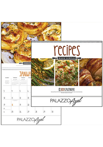 Pixaction Recipes Made Simple Calendars | X30155