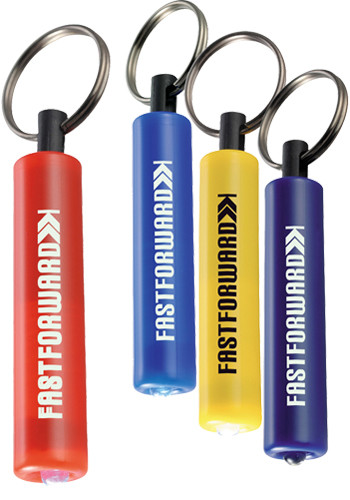 Plastic LED Keychains