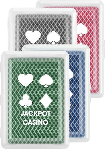 Personalized Playing Card Set In Case