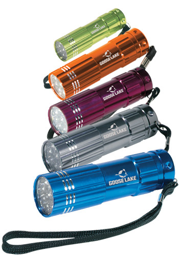 Personalized Pocket Aluminum LED Flashlights