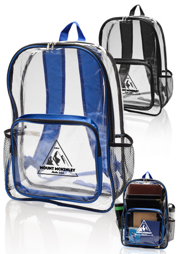 Clear Plastic Backpacks