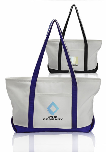 Promotional Pocket Large Canvas Tote Bags