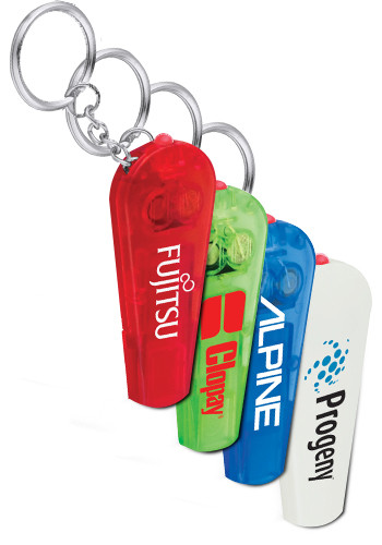 Pocket Whistle Key-Light Keychains