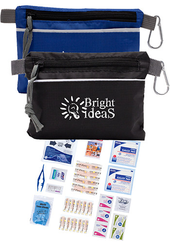 Premium First Aid Kit in Zippered Pouch | SUZSKPREMIUM
