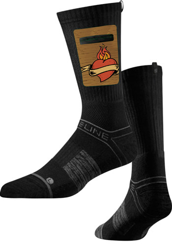 Wholesale Premium Utility Black Crew Socks
