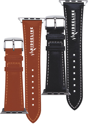 Personalized Prime Time Leather Watch Bands