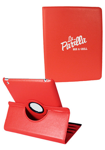 Red iPad 360 Faux Cases | NOI60I360RD