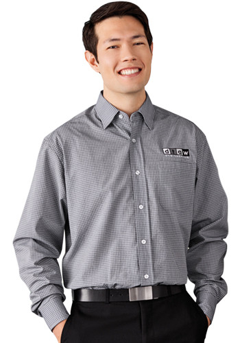 Men's Hayden Long Sleeve Dress Shirts | LETM17654